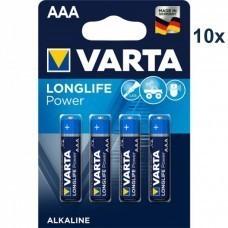 Varta 4903 High Energy AAA/Micro Batterie 10x 4-Pack