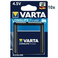 Varta 4912 High Energy MN1203, 3LR12, 3LR12P Batterie 10-Pack
