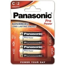 Panasonic Pro Power C/Baby/LR14 Batterie 2-Pack