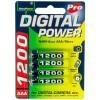 AccuPower AP1200-4 AAA/Micro/LR03/MN2400 NiMH Akku 4-Pack