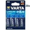 Varta 4906 High Energy AA/Mignon/LR6 Batterie 20x 4-Pack