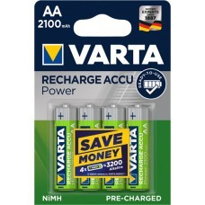 Varta 56706 Longlife AA / Mignon Ready2Use batería 4-Pack