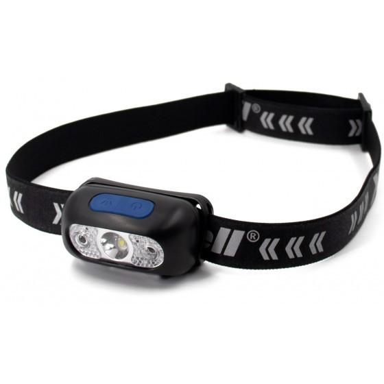 XCell LED Sensor Headlamp H230 Headband Reflective with Motion Sensor