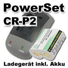 CR-P2P PowerSet inkl. Li-ion rechargeable battery