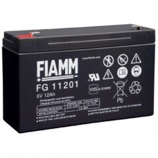 Fiamm FG11201 lead-acid battery 6Volt