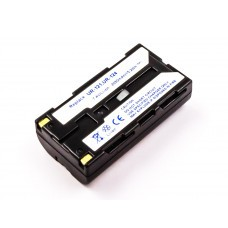 AccuPower battery suitable for Sanyo UR-121D, UR-124, IDC-1000Z