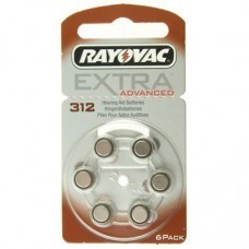 Rayovac Extra HA312, PR41, 4607 hearing aid battery 6 pcs.