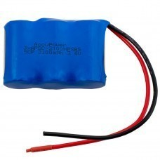 AccuPower battery for Emergency light 3,6V Sub-C 2100mAh