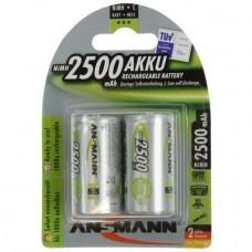Ansmann Standard C/Baby NiMH battery 2 pcs.
