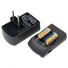 CR123A Charger incl. 2x batteries