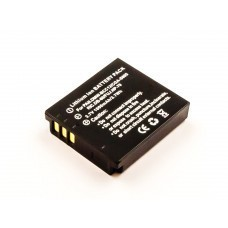 AccuPower battery suitable for Panasonic CGA-S005, DMW-BCC12
