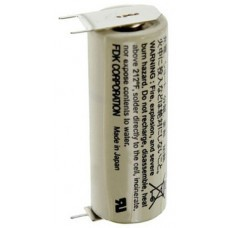 Sanyo CR17450SE Size A Lithium battery 3-Print solder tag
