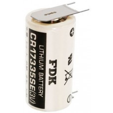 Sanyo Lithium battery CR17335 SE Size 2/3A, 3-Print solder tag