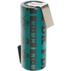 FDK HR-4/5AU-ZLF battery with soldering tag z-shape