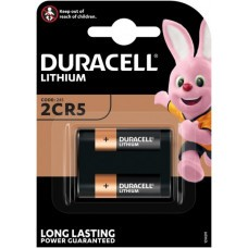 Duracell Ultra 245, 2CR5 Photo lithium battery