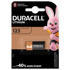 Duracell Ultra 123, CR123 Photo lithium battery