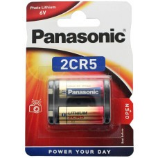Panasonic 2CR5 Photo Power lithium battery
