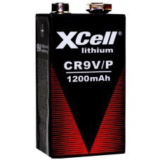 XCell CR9V lithium battery