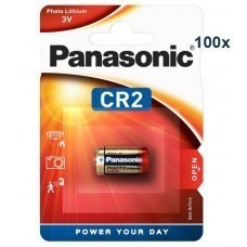 Panasonic CR2, CR2EP  Lithium battery 100 pcs.