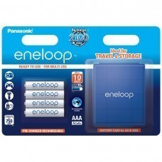 Panasonic Eneloop Plus AAA/Micro/LR03 4pcs inkl. AccuPower Box