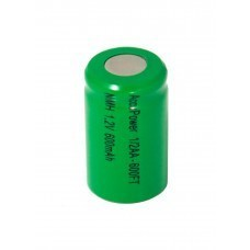 AccuPower 1/2AA battery NiMH 600mAh Flat top