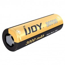 iJoy 20700 Lithium-Ion rechargeable Battery 3,7V 3000mAh 40A