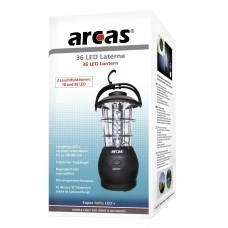 Arcas 36 LED Lantern with built-in compass Rain-proof u. shockproof