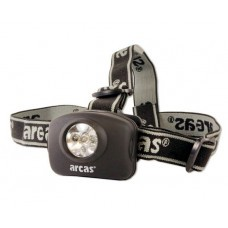 Arcas headlight 5 LED incl. 3 AAA batteries