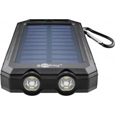 Solar Outdoor Powerbank 8.0 (8,000 mAh) incl. Flashlight function