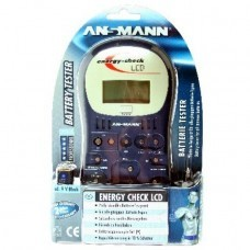 Ansmann Energy Check LCD, Battery Tester