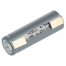 Panasonic HHR120 4/5AA battery with solder tag