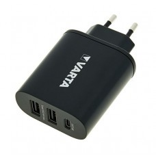 Plug charger Varta Wall Charger for USB and USB-C