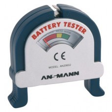 Universal battery tester, battery check for AAA/AA/C/D/9V