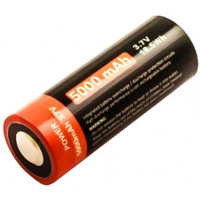 Cylindrical cell 26650, Li-ion, 3.7V, 5000mAh, with USB charging port