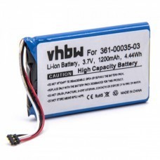 VHBW Battery for Garmin Nüvi 2505, 2555LMT, 1200mAh