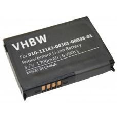 VHBW Extended battery suitable for TomTom GO 300, 2600mAh