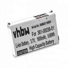 VHBW Battery for Garmin Nüvi 500, 510, 1800mAh
