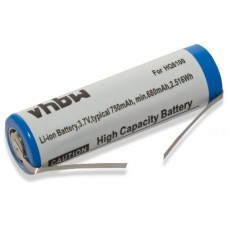 VHBW Battery for Philips HQ8100, 3.7V, Li-Ion, 750mAh