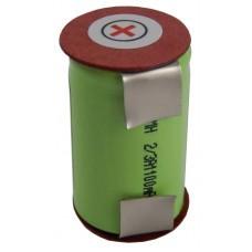VHBW Battery for Braun 2500, 2500, 1.2V, NI-MH, 1100mAh