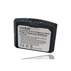 VHBW Battery suitable for Sennheiser headphones BA300, 500898, IS 410