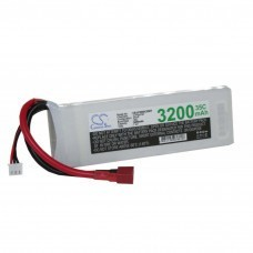 Racing Pack Battery 7.4 Volt, Li-Poly