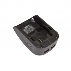 Battery adapter with 2x USB connection suitable for Dewalt XR series