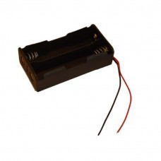 Battery holder for 2x 18650 cells with cable Battery