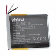 VHBW Battery for GoPro Hero 4 Session, 601-06750-000, 700mAh