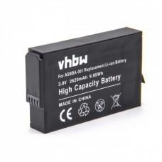 VHBW Battery for GoPro Fusion, ASBBA-001, 2620mAh