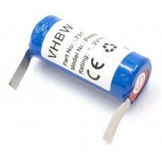 VHBW Battery for Braun Oral B Triumph 4000, 1.2V, NiMH, 2500mAh