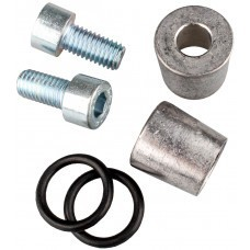 Pole adapter M8 internal thread to A round pole / PA-42 - 1 set of 2 adapters