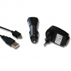 4-in-1 accessory set for micro USB: charger, car adapter, data and charging cable