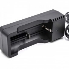 VHBW USB charger for lithium cells, e.g. type 18500, 18650, 14500, 18350, etc.
