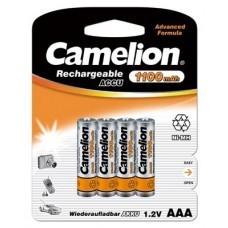 Camelion Battery AAA/Micro 4-Blister NiMH 1100mAh